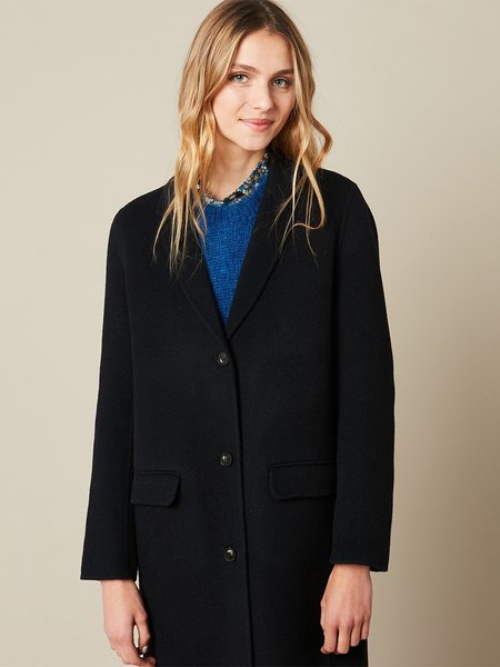 hartford voila coat - navy