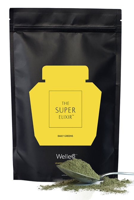 WelleCo The Super Elixir Daily Greens - Lemon and Ginger