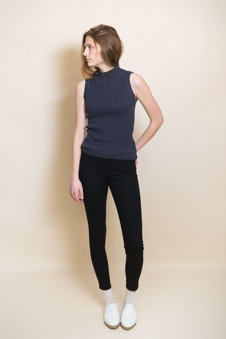 3x1 NYC W3 Highrise Crop Skinny - Black