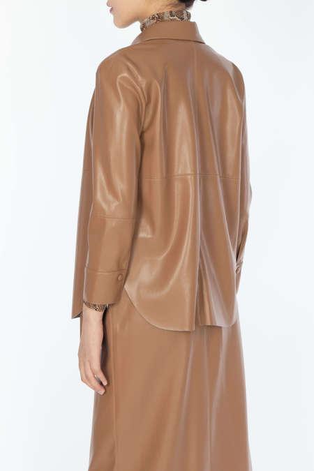 NANUSHKA Classic Shirt - Brown