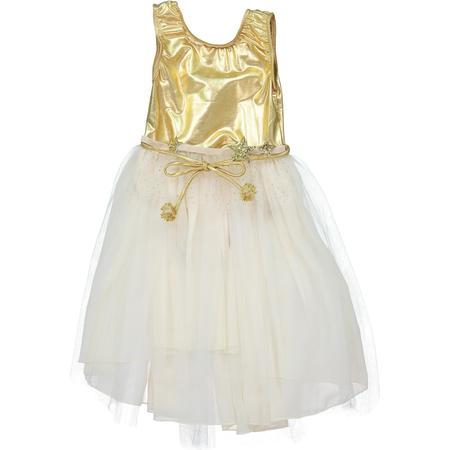 KIDS atsuyo et akiko loulou dress - gold