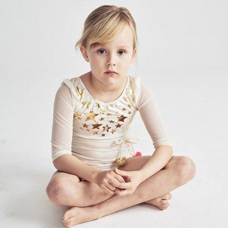 KIDS atsuyo et akiko violetta leotard - ivory
