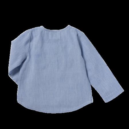 kids bonheur du jour oscar shirt - blue