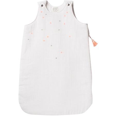 Kids Bonheur Du Jour Sleeping Bag - Stars White