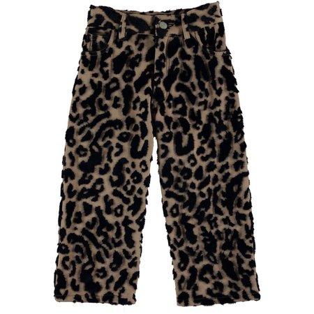 kids caroline bosmans hairy pants - Camel panther