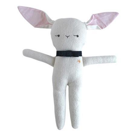 Kids Elliefunday Monsieur Lapin Stuffed Bunny - White