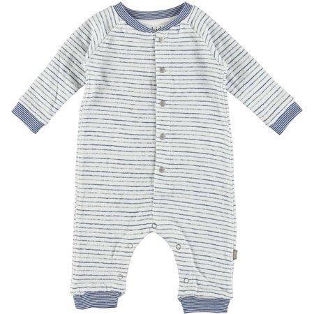 Kids Kidscase Pitt Organic NB Suit - Blue