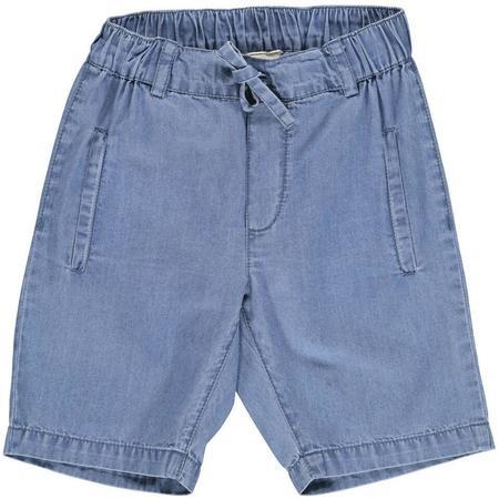 Kids Marmar Copenhagen Peter Denim Shorts - Mild Denim Blue