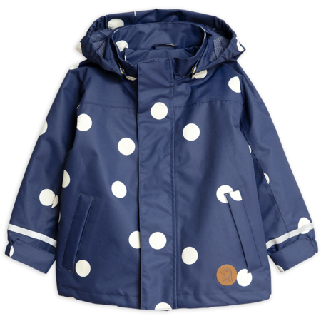 Kids Mini Rodini Edelweiss Jacket - Navy Blue
