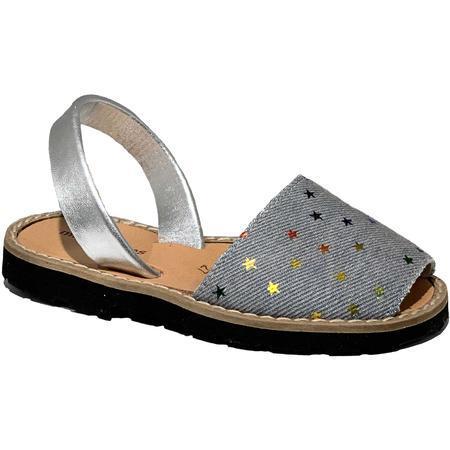 Kids Minorquines Jean Stars Sandals