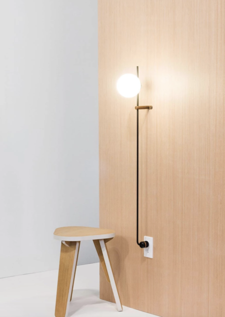 "Humanhome Co. Lynea 40"" Plug Lamp"