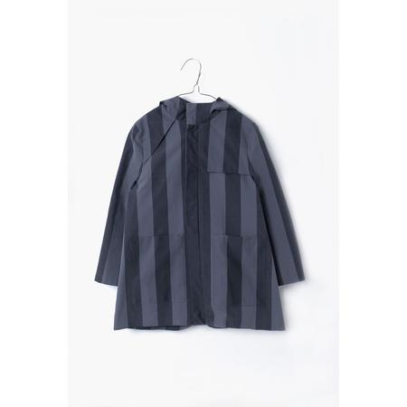 KIDS motoreta striped lilo trench - black/grey stripes