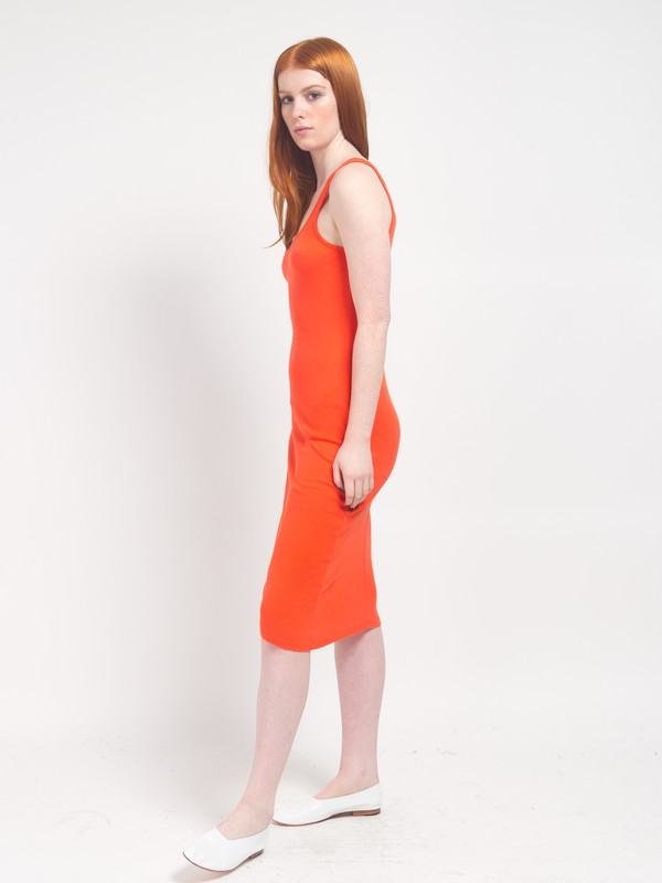 Skin Meredith Tank Dress Red