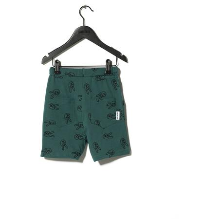 Kids Sometime Soon Willow Shorts - Green Aop