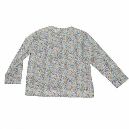 Kids Tia Cibani Classic Kurta Baby Shirt - Elizabeth Floral Liberty Print