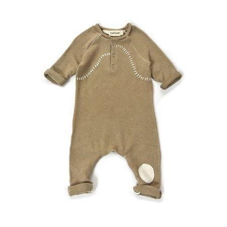 Kids Treehouse Oniko Playsuit - Amber/White