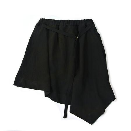 Kids Treehouse Tari Hope Asymmetric Skirt - Black