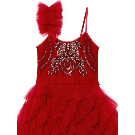 Kids TUTU DU MONDE Cherry Delight Tutu Dress - Red