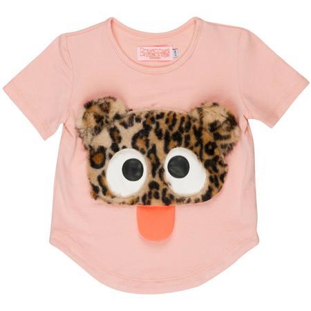 Kids Wauw Capow By Bangbang Copenhagen Cute Rebel T-shirt - Pink
