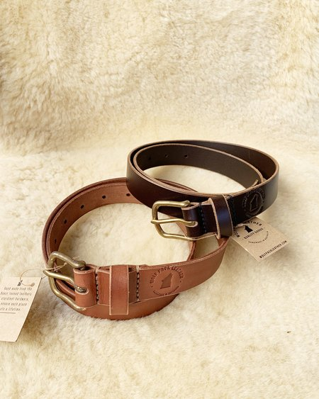 WOLF PACK LEATHER BELTS