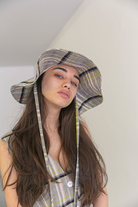 NIKKI CHASIN SONATA BUCKET HAT - CANDY PLAID