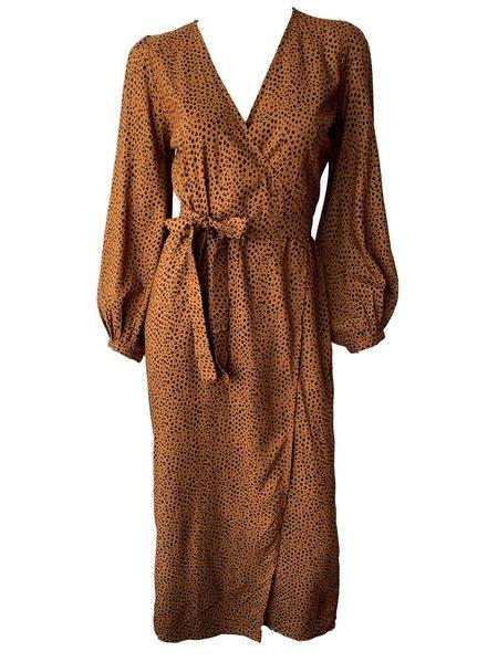 Emerson Fry Bishop Dress - Cheetah Spots