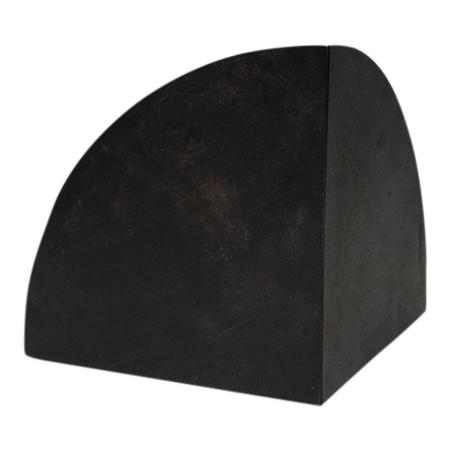 S/N Single Bookend - Black/Brass
