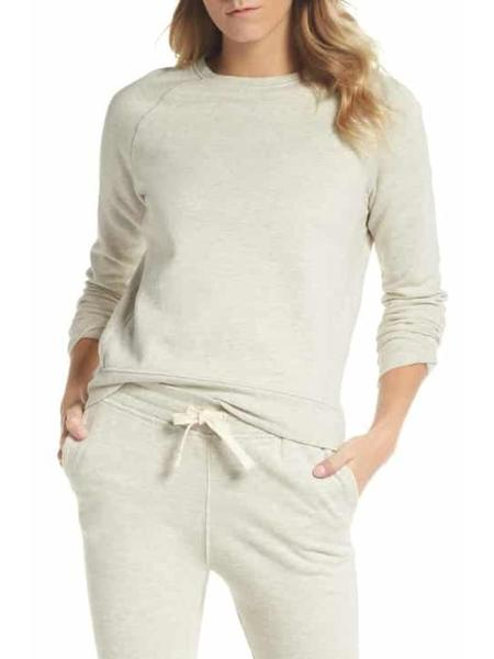 Richer Poorer crew sweatshirt - Oatmeal