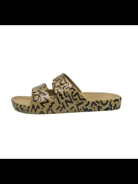 Freedom Moses memphis slipper - khaki
