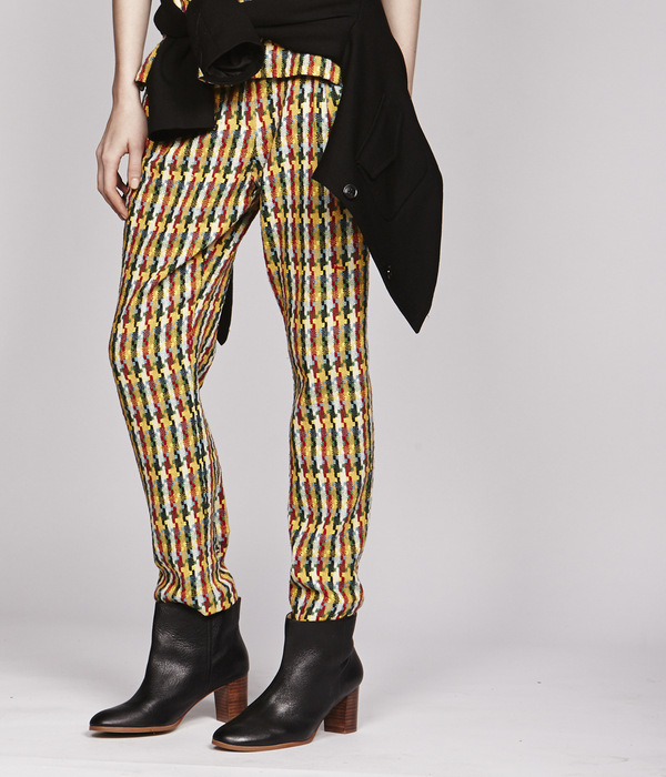 Nikki Chasin Brick Road Tweed Trouser