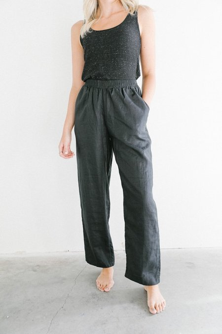 Bahhgoose Bell Pants - Black