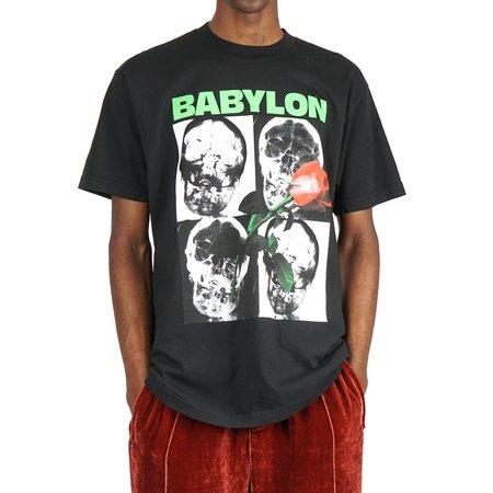 BABYLON LA SUB ROSA TEE - BLACK