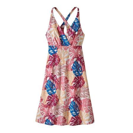 Patagonia Amber Dawn Dress - Tarkine Fern/Petra Pink