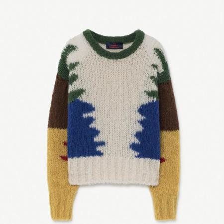 Kids The Animals Observatory Blowfish Sweater - Multicolor
