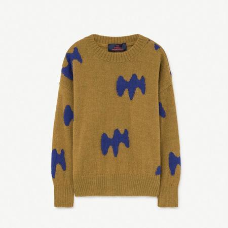Kids The Animals Observatory Raven Sweater - Sand