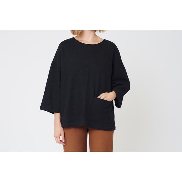 First Rite Box Sweater |  Grey