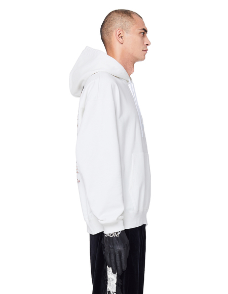Doublet Embroidered Clown Hoodie - White