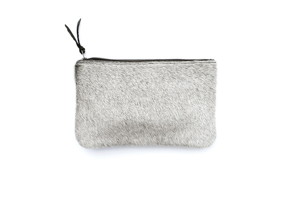 Primecut LIGHT GREY CLUTCH