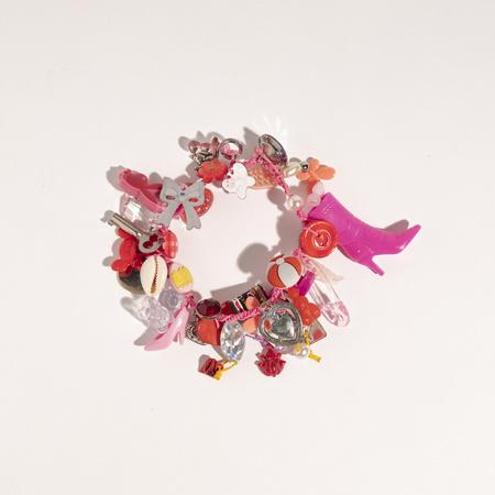 Aurelia Cotton Charm Bracelet - Multi