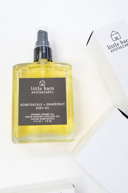 Beklina Little Barn Apothecary Honeysuckle and Grapefruit Body Oil