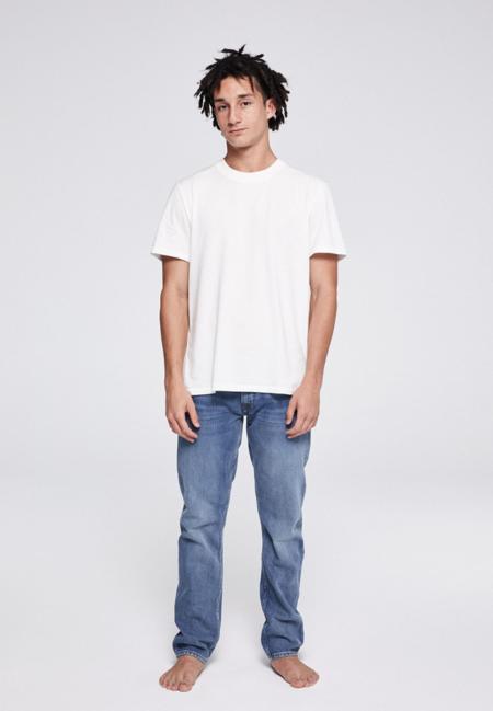 Armedangels Dylan Detox Straight Denim Jeans - Light Stone Wash