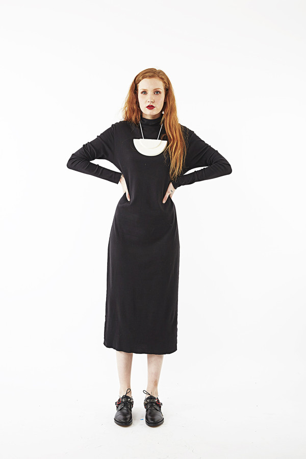 OAK Turtle Neck Dress