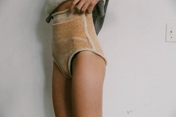 giu giu Chenille Nude Panties