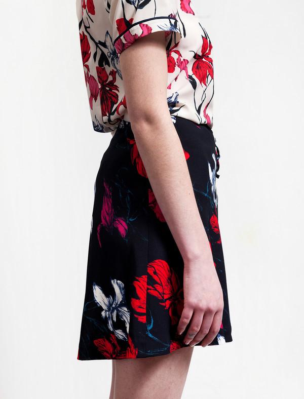 Thakoon Floral Wrap Skirt