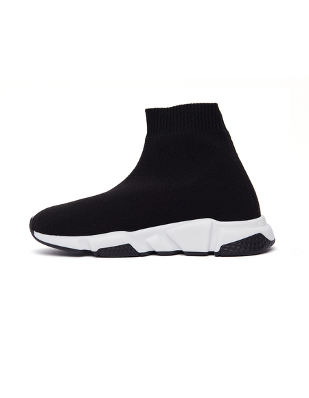 Balenciaga Kids Speed Trainer Sneakers - Black
