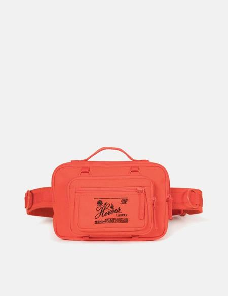 Unisex Eastpak x Raf Simons Waistband Loop Hip Bag - Orange