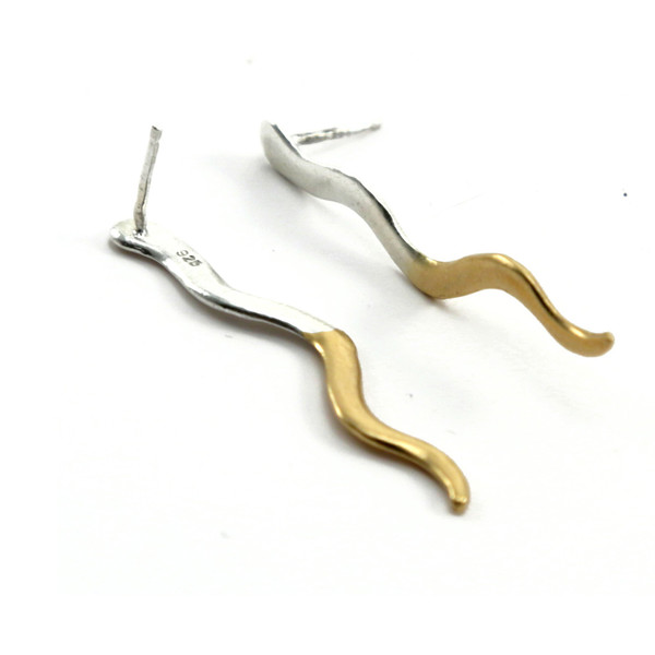 Alynne Lavigne 2Tone Chili Earrings