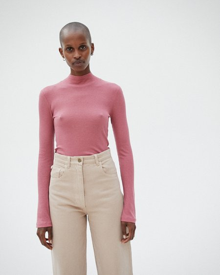 Nanushka ALANA Turtleneck top - Dusty pink