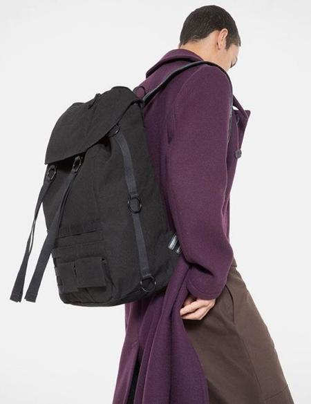 Eastpak x Raf Simons Large Topload Loop Backpack - Black