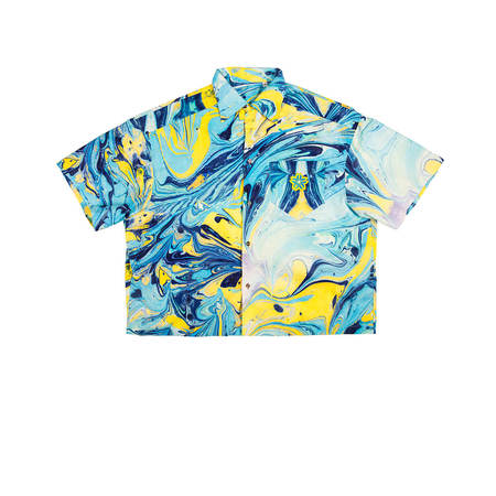FORMY STUDIO Rorshach shirt - Blue Heaven